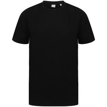 textil T-shirts Sf SF253 Svart/vit