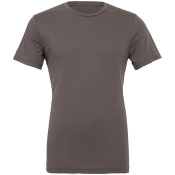 textil T-shirts Bella + Canvas CV3001 Asfalt