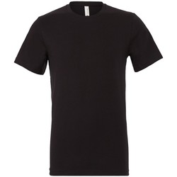 textil T-shirts Bella + Canvas CV3001 Vintage svart