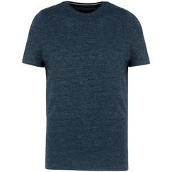 textil Herr T-shirts Kariban Vintage KV2106 Nattblått Heather