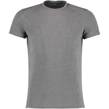 textil Herr T-shirts Gamegear KK939 Grå melange