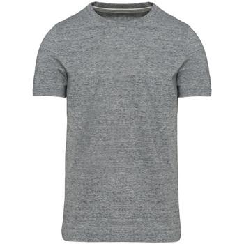 textil Herr T-shirts Kariban Vintage KV2106 Slub Grey Heather