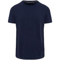 textil Herr T-shirts Kariban Vintage KV2106 Vintage marinblått