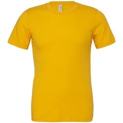 textil T-shirts Bella + Canvas CV3001 Guld