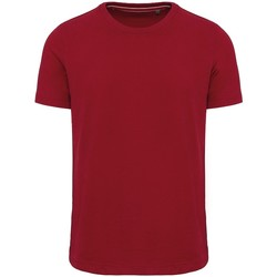textil Herr T-shirts Kariban Vintage KV2106 Vintage mörkröd