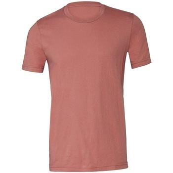 textil T-shirts Bella + Canvas CV3001 Mauve