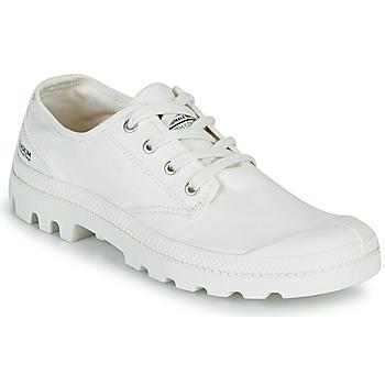 Skor Sneakers Palladium PAMPA OX ORGANIC II Vit