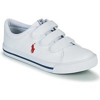 Skor Barn Sneakers Polo Ralph Lauren ELMWOOD EZ Vit