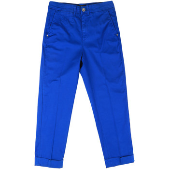 textil Dam Chinos / Carrot jeans Fornarina BE171L73G29112 Blå