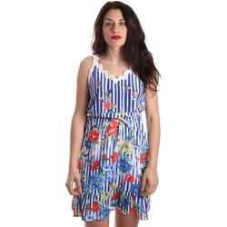 textil Dam Korta klänningar Fracomina FR19SP563 Blå