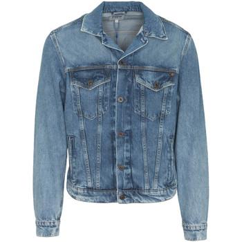 textil Herr Jeansjackor Pepe jeans PM400908WG5 Blå