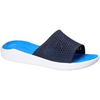 Skor Herr Flipflops Crocs 205183 Blå