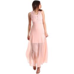 textil Dam Långklänningar Gaudi 911FD15004 Rosa