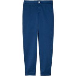 textil Dam Chinos / Carrot jeans NeroGiardini E060100D Blå