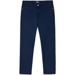 textil Herr Chinos / Carrot jeans Nero Giardini E070630U Blå