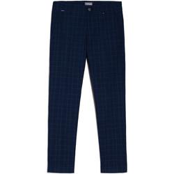 textil Herr Chinos / Carrot jeans Nero Giardini E070682U Blå