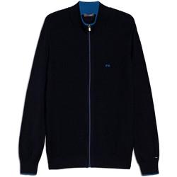 textil Herr Koftor / Cardigans / Västar NeroGiardini E074560U Blå