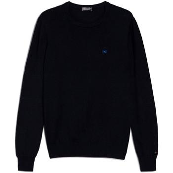 textil Herr Tröjor NeroGiardini E074580U Blå