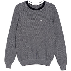 textil Herr Tröjor Nero Giardini E074590U Blå