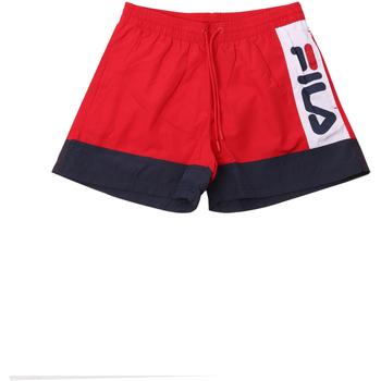 textil Herr Badbyxor och badkläder Fila 687743 Röd