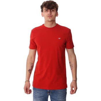 textil Herr T-shirts Antony Morato MMKS01737 FA120022 Röd