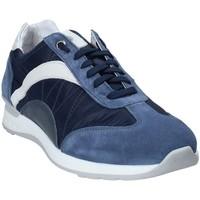 Skor Herr Sneakers Exton 661 Blå