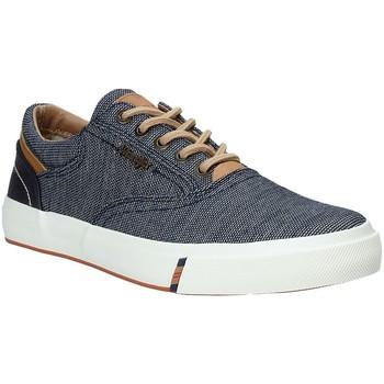 Skor Herr Sneakers Wrangler WM91120A Blå
