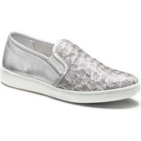 Skor Dam Slip-on-skor Keys 5051 Silver