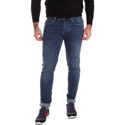 textil Herr Skinny Jeans Gas 351276 Blå