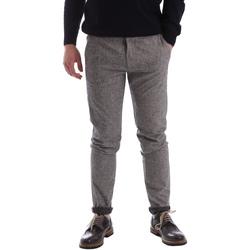 textil Herr Chinos / Carrot jeans Gaudi 62FU20005 Grå