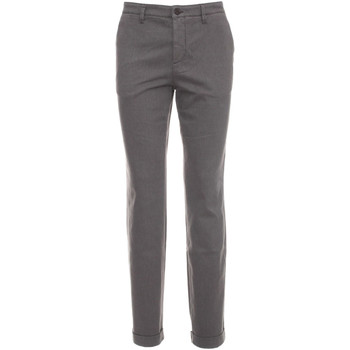 textil Herr Chinos / Carrot jeans NeroGiardini A674440U Grå