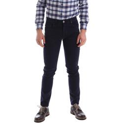 textil Herr 5-ficksbyxor Sei3sei 02396 Blå