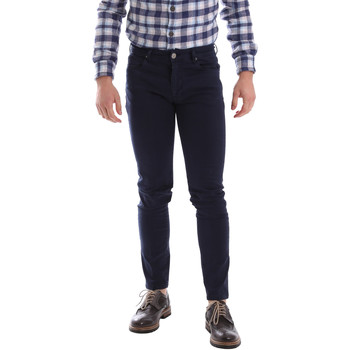 textil Herr 5-ficksbyxor Sei3sei 02696 Blå