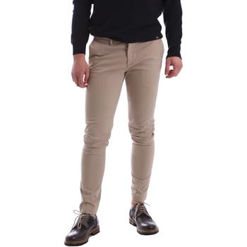 textil Herr Chinos / Carrot jeans Sei3sei 02396 Beige