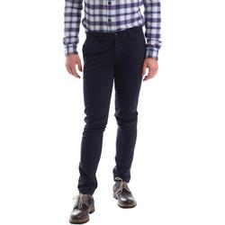 textil Herr Chinos / Carrot jeans Sei3sei 02396 Blå