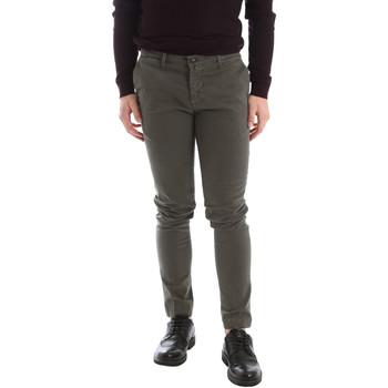 textil Herr Chinos / Carrot jeans Sei3sei 02396 Grön