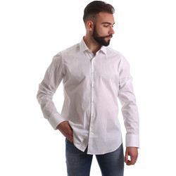 textil Herr Långärmade skjortor Gmf 962250/03 Vit