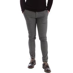 textil Herr Chinos / Carrot jeans Sei3sei 2626 Grå