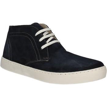 Skor Herr Höga sneakers Café Noir XN601 Blå