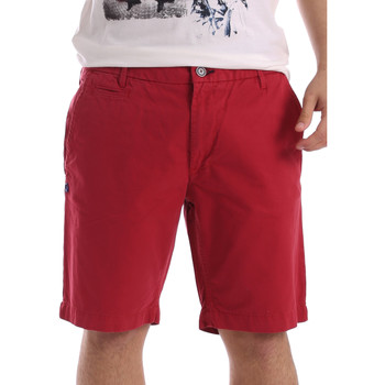 textil Herr Shorts / Bermudas Gaudi 71BU25028 Röd