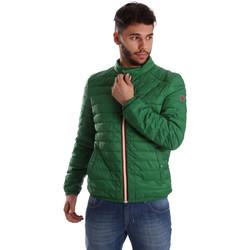 textil Herr Täckjackor Gaudi 71BU35035 Grön