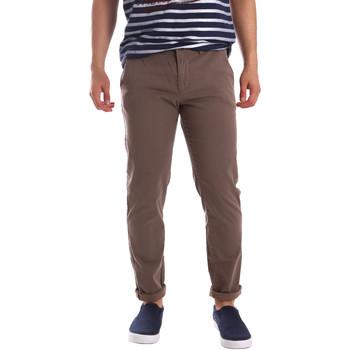 textil Herr Chinos / Carrot jeans Gaudi 71FU25005 Brun