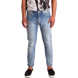 textil Herr Stuprörsjeans Tommy Hilfiger DM0DM02107 Blå
