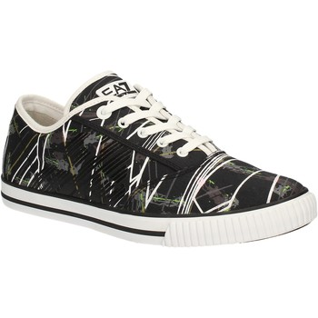 Skor Herr Sneakers Ea7 Emporio Armani 278087 7P299 Svart