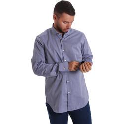 textil Herr Långärmade skjortor Gmf 971134/05 Blå