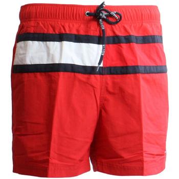 textil Herr Badbyxor och badkläder Tommy Hilfiger UM0UM00236 Röd