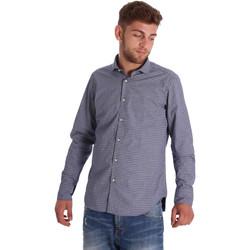 textil Herr Långärmade skjortor Gmf 971192/03 Blå