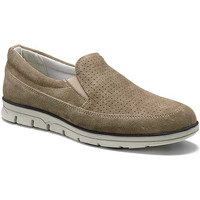 Skor Herr Loafers Keys 3073 Beige