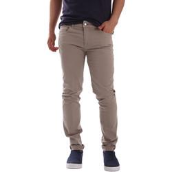 textil Herr Chinos / Carrot jeans Sei3sei PZV17 7148 Beige