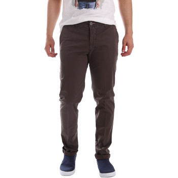 textil Herr Chinos / Carrot jeans Sei3sei PZVI69 7148 Brun